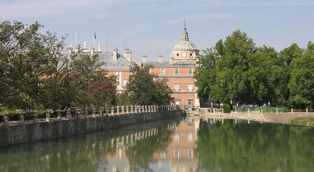 El Tajo a su paso por Aranjuez (Wikipedia/CC).