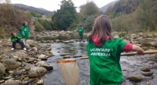 escolares Cantabria se mojan ríos