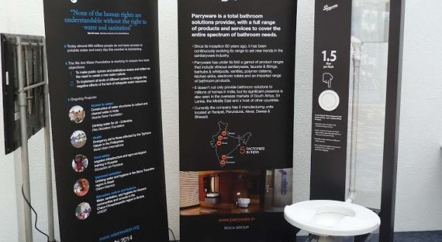 Presentan prototipo inodoro que funciona tan solo 1,5 litros agua
