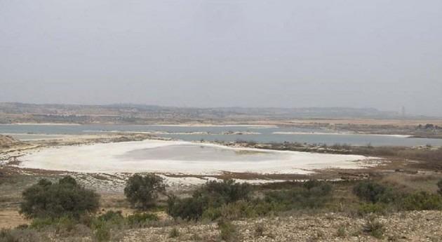 Laguna salada de Chiprana (Wikipedia/CC).