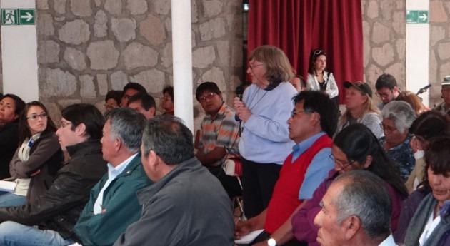 Ministerio Agricultura presenta avances construcción embalse y sistema riego San Pedro Atacama
