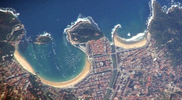 San Sebastián, capital de Guipuzkoa (Wikipedia/CC).