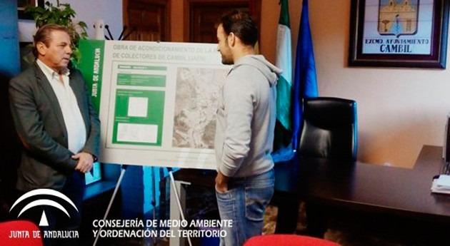 Gobierno andaluz comienza acondicionamiento red saneamiento Cambil