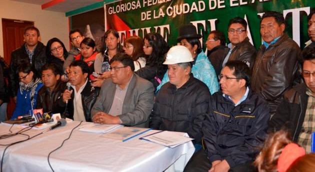 Acordadas obras saneamiento Gobierno boliviano y Alto