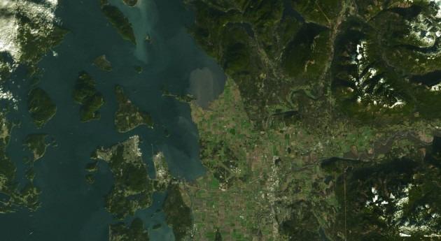 Estados Unidos utiliza imágenes satélite español gestionar regadío país