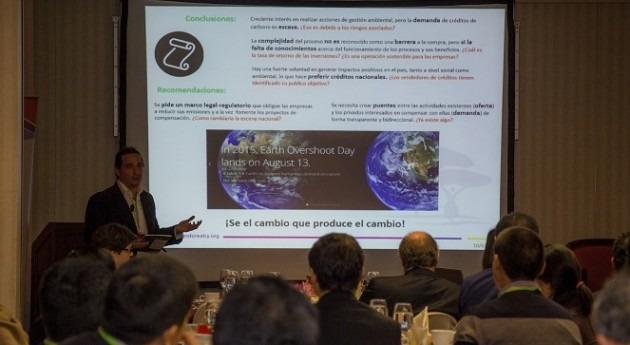 """"""" mitigar cambio climático necesitamos ayuda sector privado"""""""