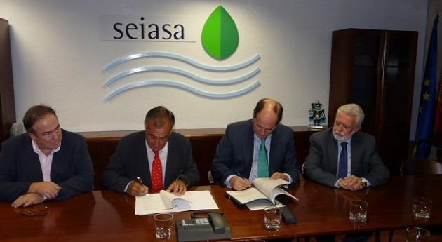 SEIASA suscribe convenio modernizar 11.848 hectáreas regadío Sevilla 26 millones euros inversión