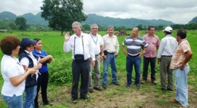 Secretaría Agua implementa proyecto fomento riego productivo Manabí