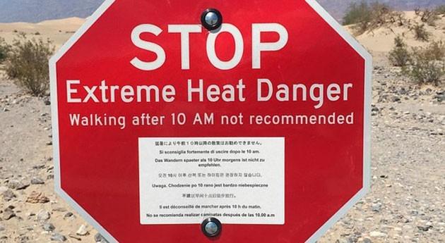 Alerta calor extremo suroeste EEUU: Se alcanzarán temperaturas superiores 50ºC