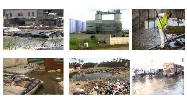 peores catástrofes mundiales saneamiento aguas residuales