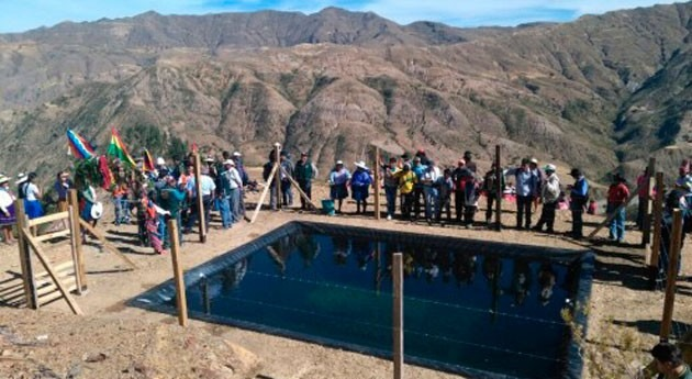 Gobierno boliviano entrega 197 sistema micro riego comunidades Toro Toro, Potosí