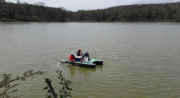 lago Sonachi: incógnitas gran producción gas metano hábitats extremos