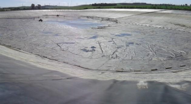 SUEZ Water Spain limpia balsa riego Jerez Frontera