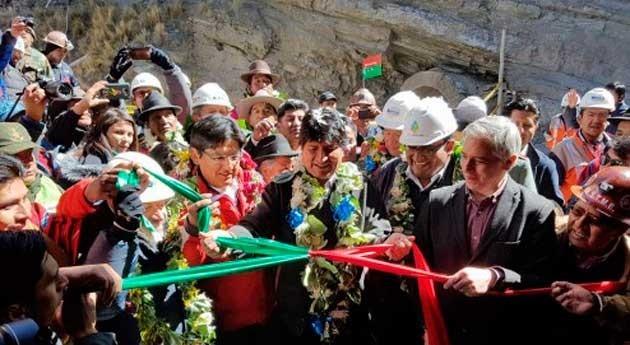 Gobierno boliviano asegura suministro agua Paz