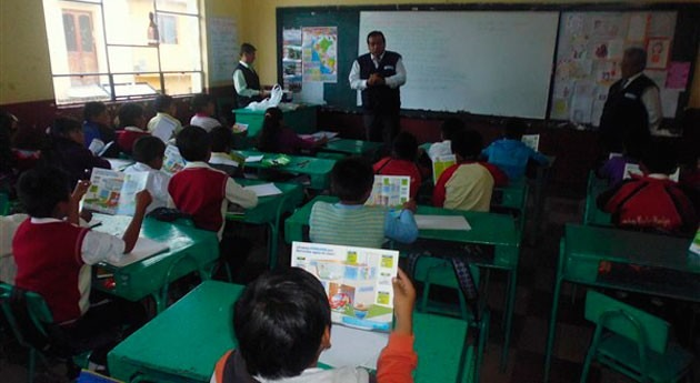 Perú continúa capacitando docentes dentro IV Concurso Buenas Prácticas agua potable