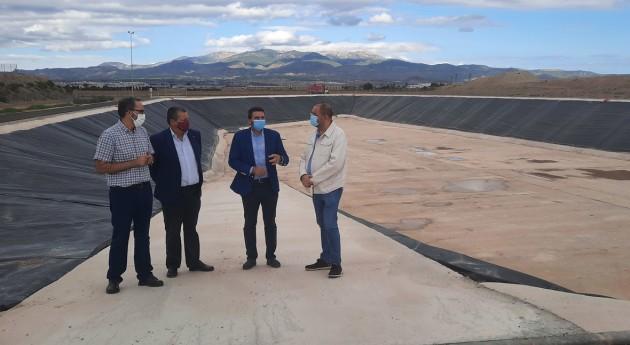 Murcia concluye construcción tanque tormentas y laminación caudales Totana