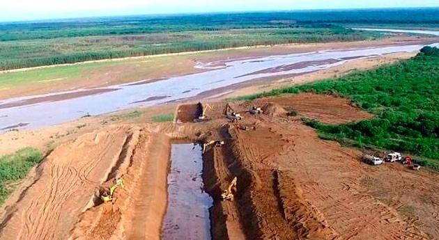 Más cerca apertura tapón Pilcomayo que aguas vuelvan fluir Paraguay