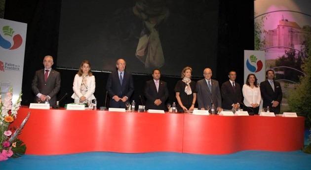 """García Tejerina: """" colaboración comunidades regantes, creación riqueza no sería posible"""""""
