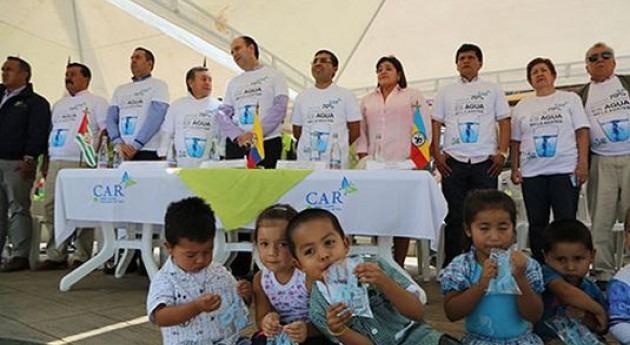 región colombiana Tequendama, unida torno al agua