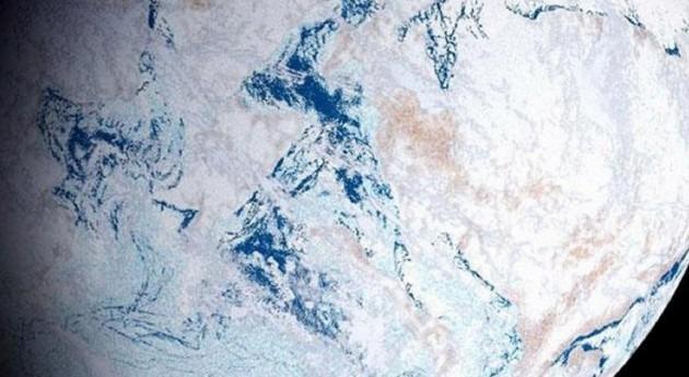 Volcanes submarinos explosivos protagonizaron glaciación global