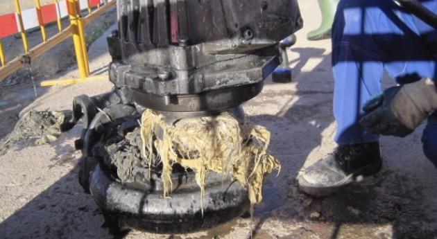 Alertan atascos que causan toallitas húmedas redes saneamiento Bilbao