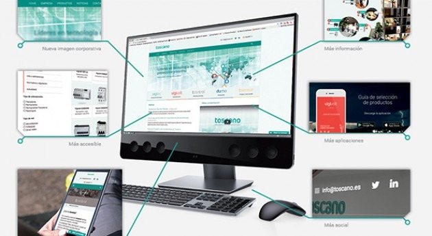 Toscano lanza nuevo website e imagen corporativa