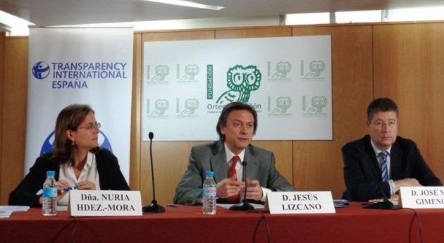 transparencia organismos cuenca españoles retrocede 2015