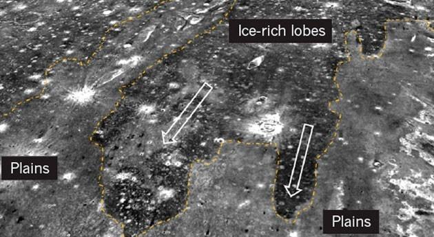 Dos tsunamis gigantes modelaron paisaje Marte cubierto agua
