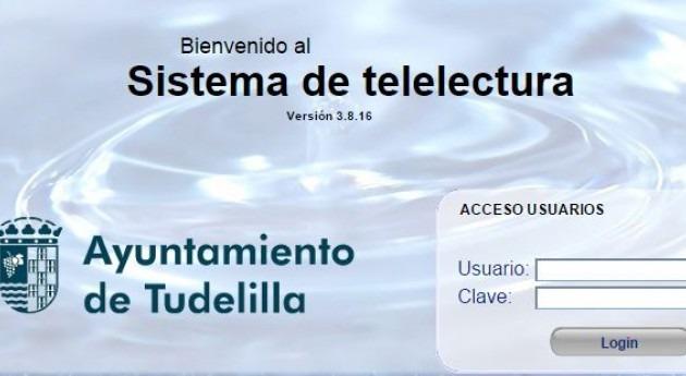Implantan nuevo sistema contadores telelectura agua Tudelilla