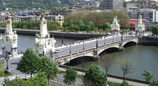 Alerta naranja San Sebastián riesgo desbordamiento Urumea