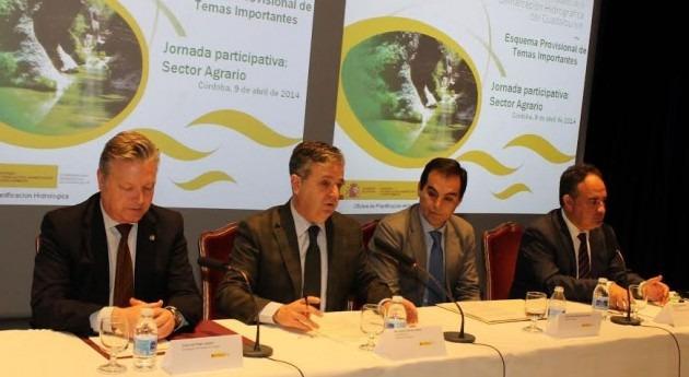 uso agrario protagonizará mayor ahorro agua Guadalquivir horizonte 2012, Manuel Romero