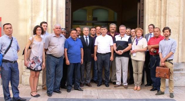 delegación Uzbekistán se interesa trasvase Tajo-Segura