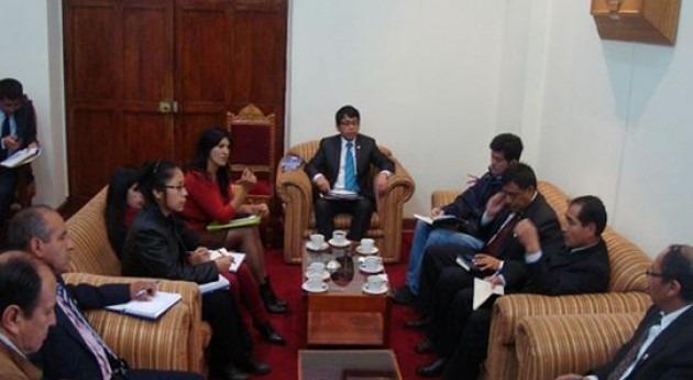 Reunión socializar roles y funciones marco Ley Recursos Hídricos Cusco