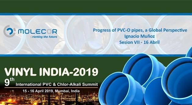 Molecor participará Vinyl India 2019