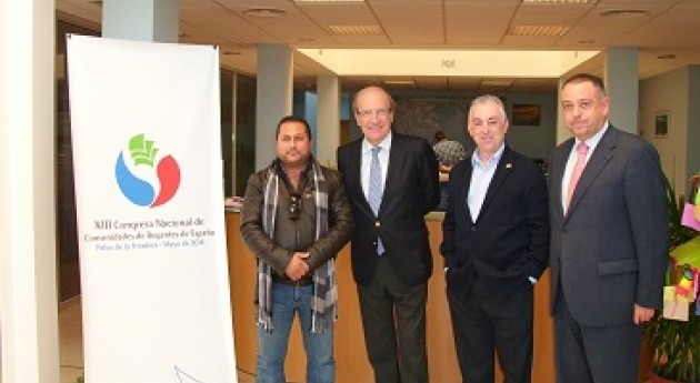 Huelva apoya XIII Congreso Nacional Comunidades Regantes que se celebrará ciudad