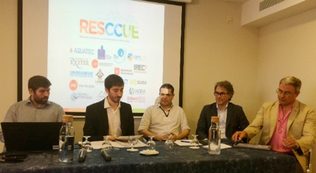 Presentado proyecto RESCCUE workshop Resilient Cities, LET 2016