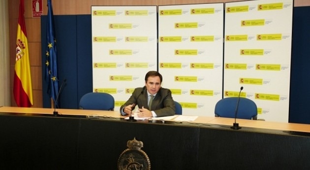 El presidente de la Confederación Hidrográfica del Ebro, Xavier de Pedro, en imagen de archivo