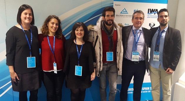 Jóvenes investigadores muestran Bilbao capacidades sector agua