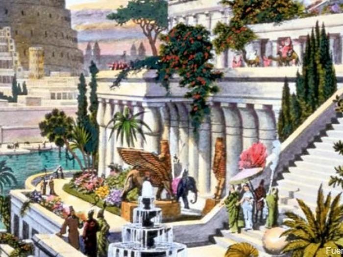 Los Jardines Colgantes De Babilonia Pudieron Llegar A Consumir Mas
