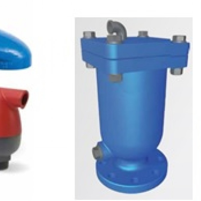 Valvula expulsora de aire para medidor de agua