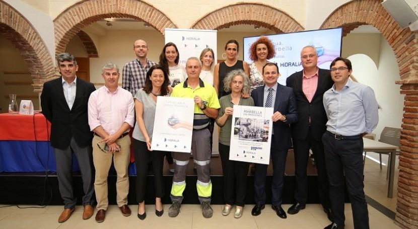 Hidralia celebra 25 años Marbella Plan Sostenibilidad e imagen renovada
