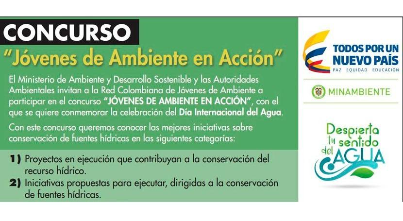 Colombia lanza concurso premiar iniciativas conservación agua