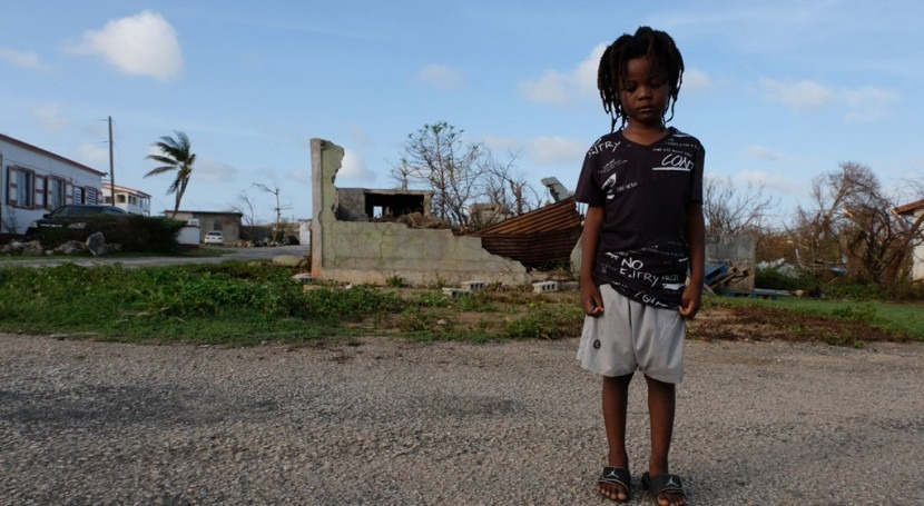 2,5 millones niños Caribe precisan asistencia urgente paso huracán Irma