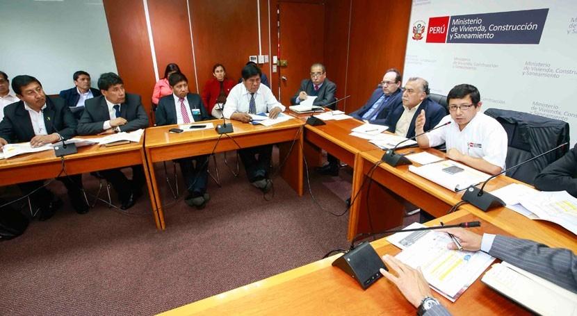 Perú ratifica cronograma construcción y funcionamiento 10 PTAR Puno