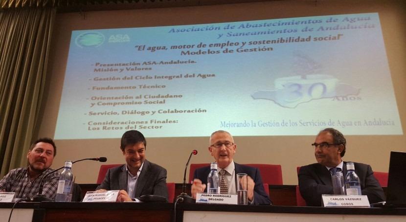 calidad, eficiencia y compromiso social, prioridades gestión ciclo integral agua