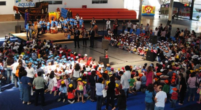 Celebración del Día Mundial del Niño en Fundao, Portugal