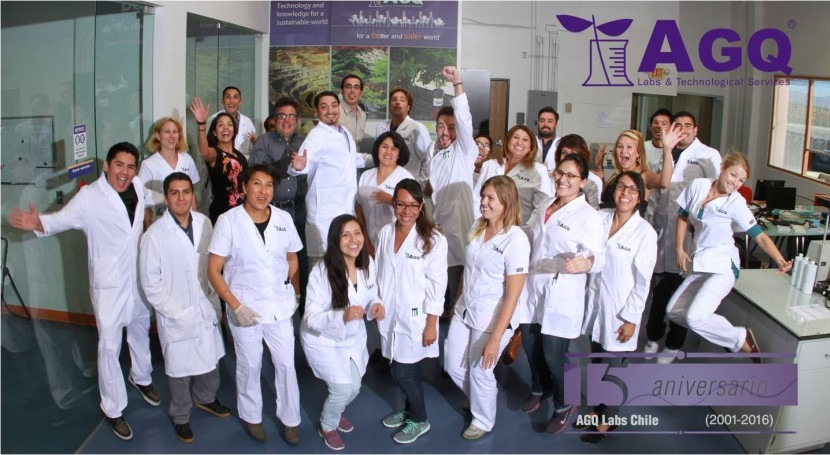AGQ Labs celebra 15 aniversario Chile