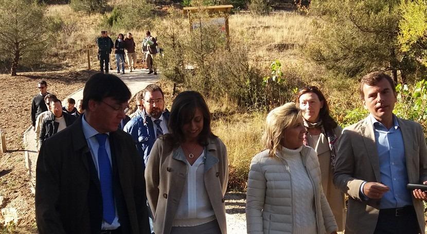 Concluye restauración río Ucero y senda Burgo y Cañón Río Lobos Soria