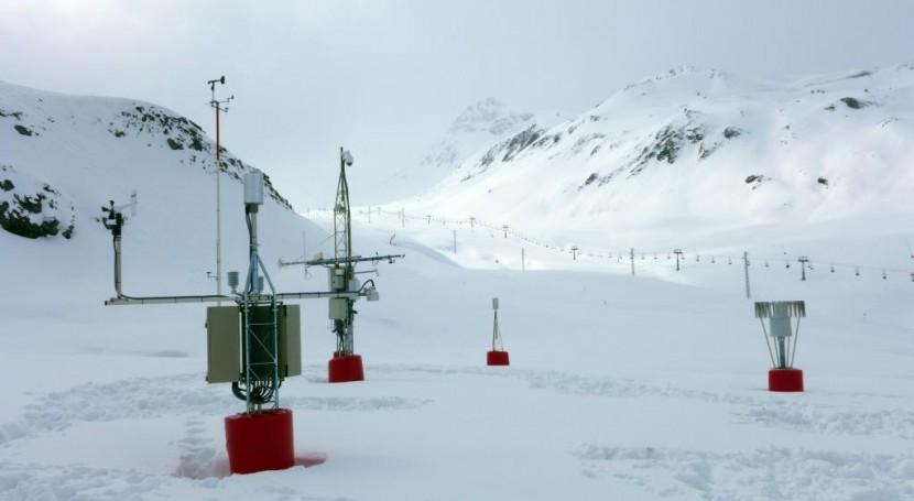 red telenivómetros cuenca Ebro y calibración sensores