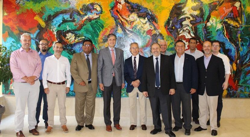 delegación latinoamericana visita cuenca Segura estudiar uso eficiente agua